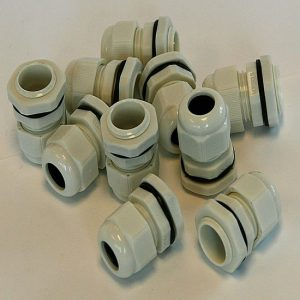 M20GW Plastic Cable Glands (10 Pack)